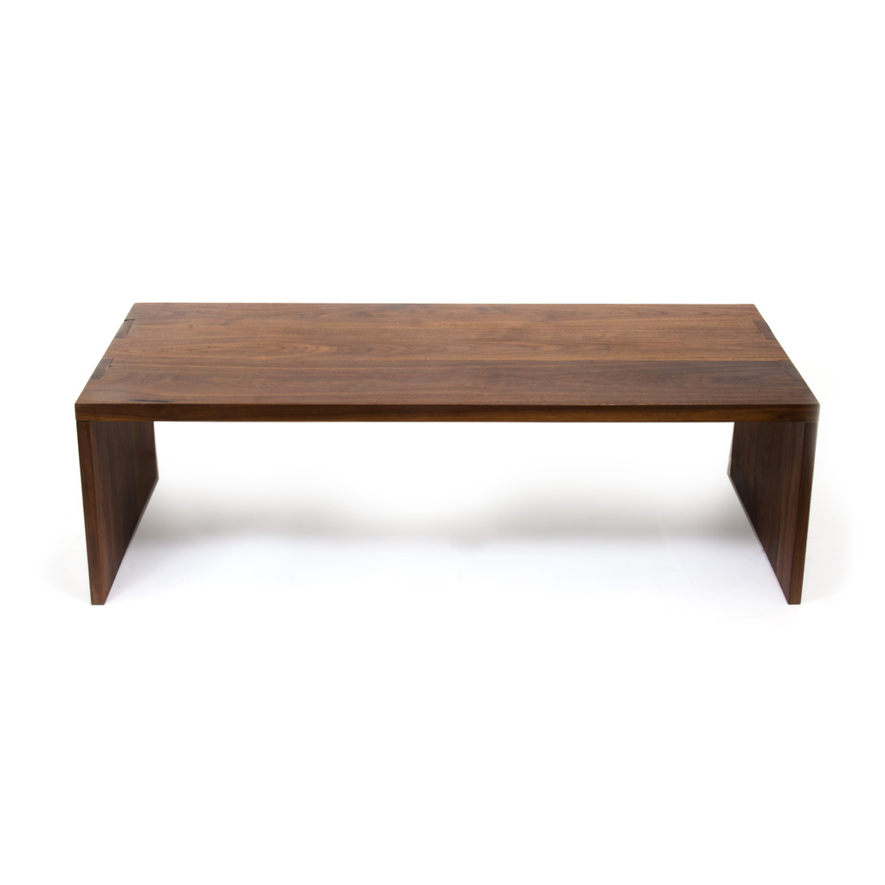 Walnut Coffee Table Peter Sid